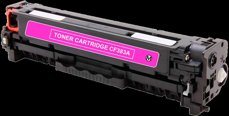 Toner Compatível HP 312A – CF383A Magenta  - Leste Cartuchos