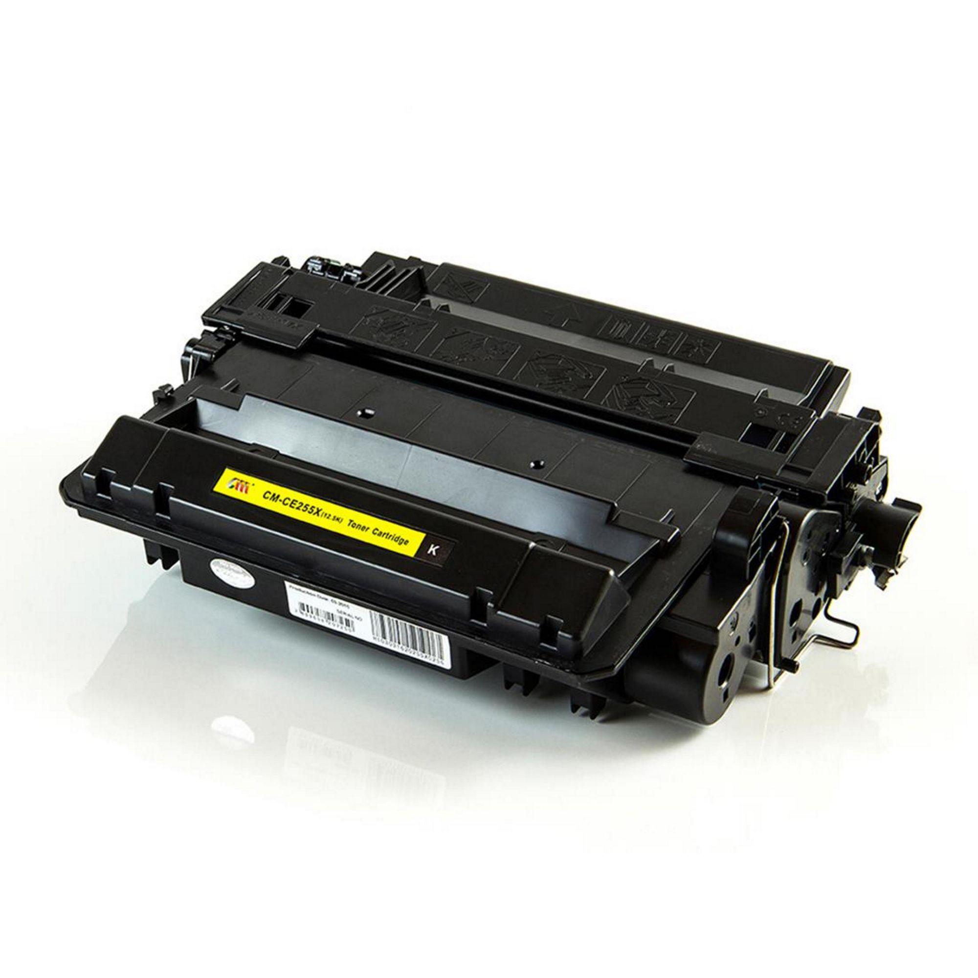 Toner Compatível HP CE255X – 55X  - Leste Cartuchos