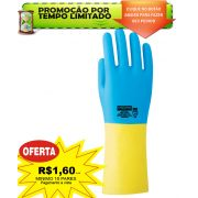 Luva L�tex natural com Neoprene Steelpro