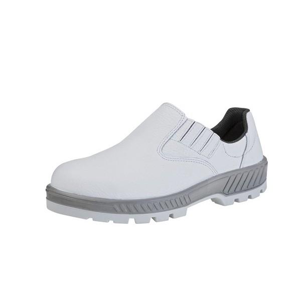 Sapato El�stico 50T19 Branco Bico Pl�stico Marluvas