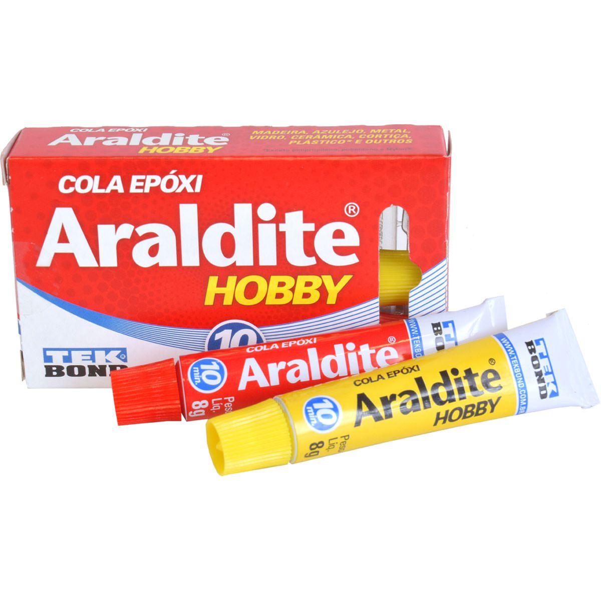 ARALDITE HOBBY 10 MINUTOS TEKBOND