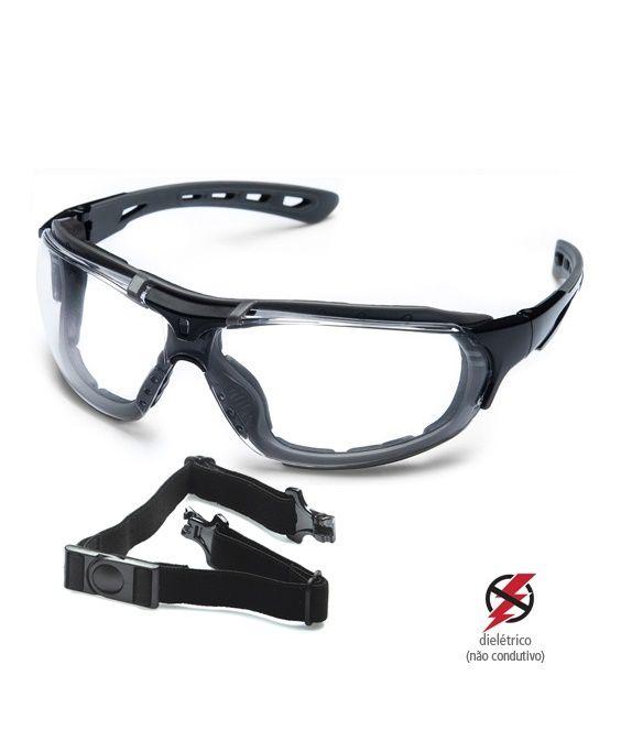 Óculos Roma Incolor Steelflex
