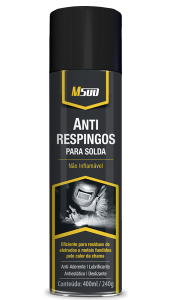 Spray Antirrespingo C/ Silicone Para Solda 400ml M500