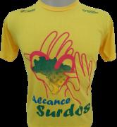Camisa Alcance surdos - Amarela