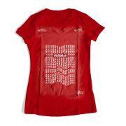 Camisa Minha razão de viver - Vermelha - Babylook (Tamanho Único)