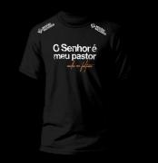 Camisa O Senhor é meu pastor - Preta