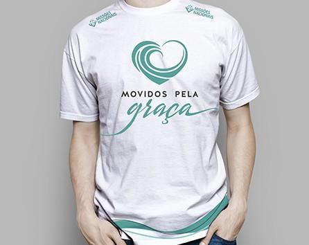 Camisa Movidos Pela Graça - Branca