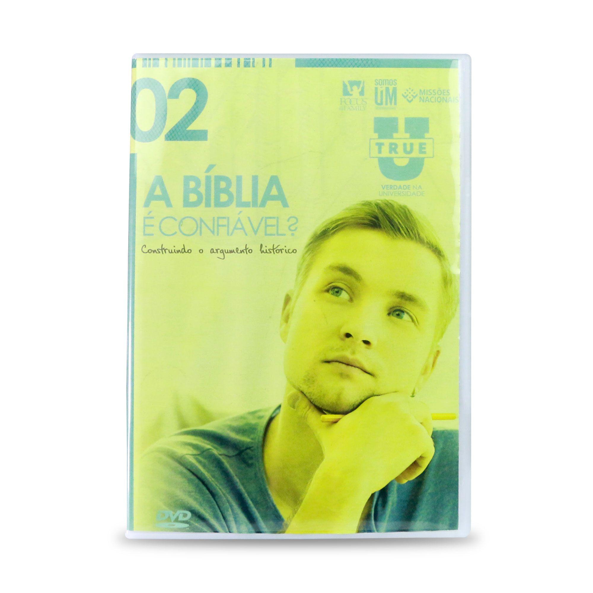 DVD True U - Vol. 2 - A Bíblia é confiável?