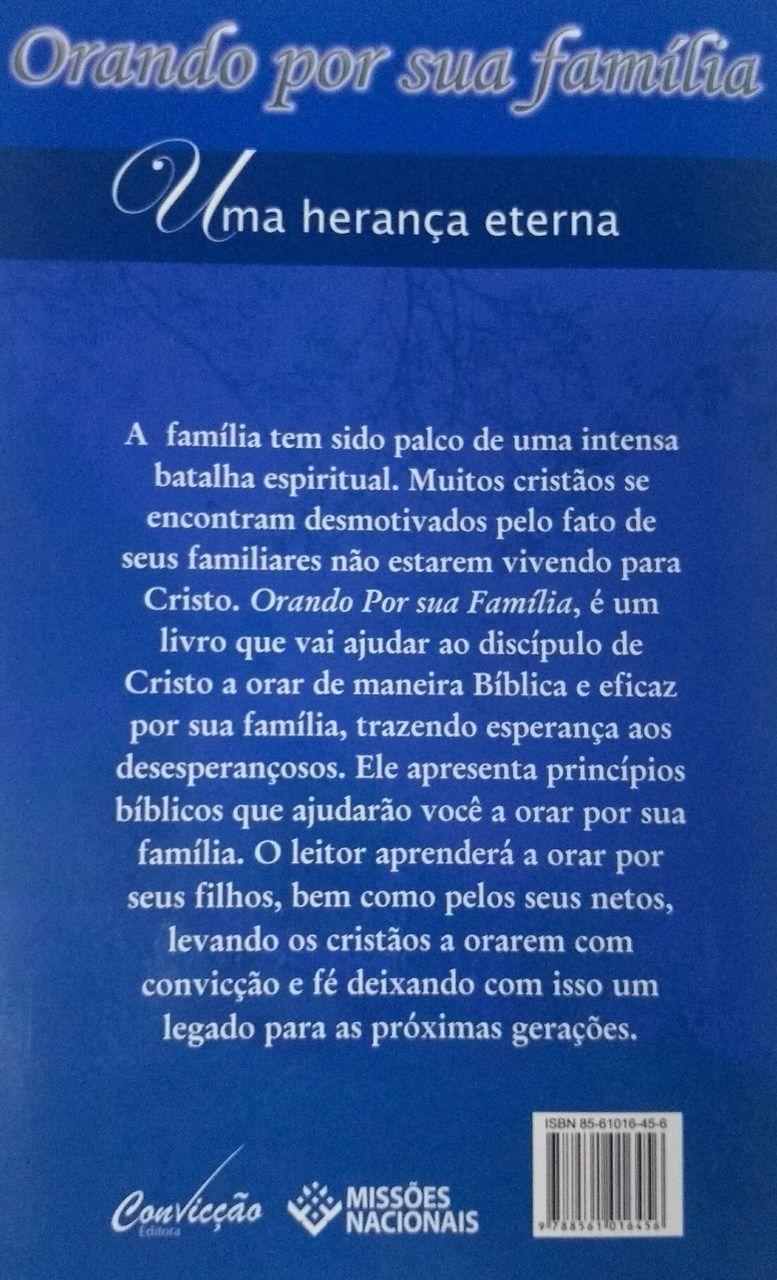 Orando por sua família