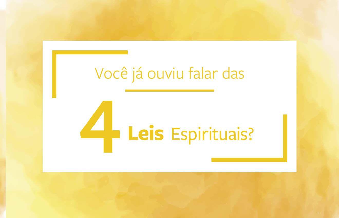 Quatro leis espirituais