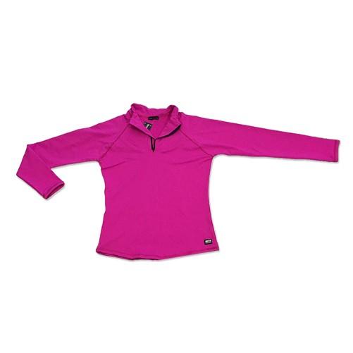 Blusão com bolso ziper nas costas pink