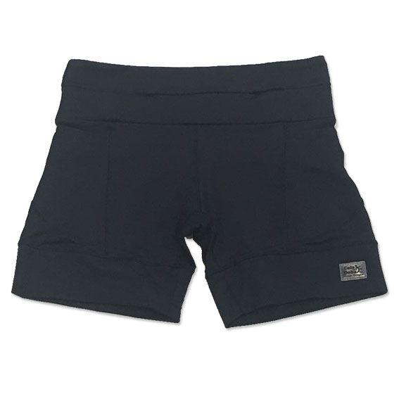 Shorts de compressão mil bolsos em sportiva preto