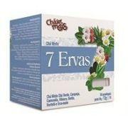 Chá 7 Ervas (10 sachês) - Chá Mais
