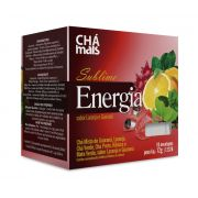 Chá Sublime Energia (10 sachês) - Chá Mais
