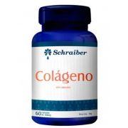 Colágeno - 60 cáps./ 500mg - Schraiber