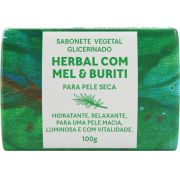 Sabonete Vegetal Glicerinado - Herbal com Mel e Buriti 100g - Green Life