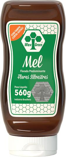 Mel Florada Predominante Flores Silvestres 560g  - Wax Green