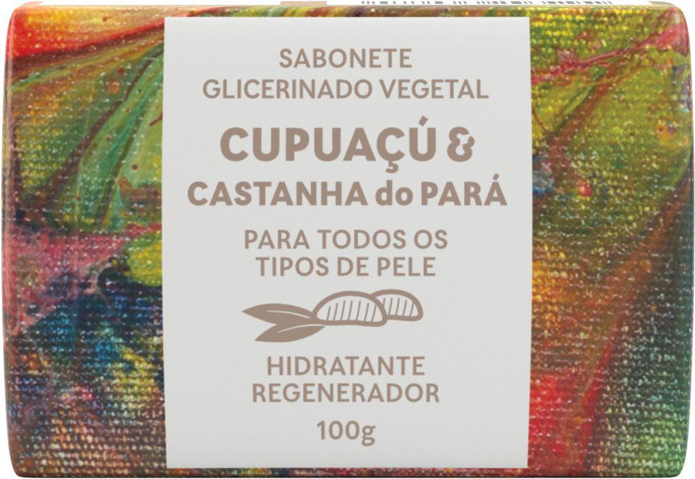 Sabonete Natural Green Life - Cupuaçu e Castanha do Pará 100G  - Wax Green
