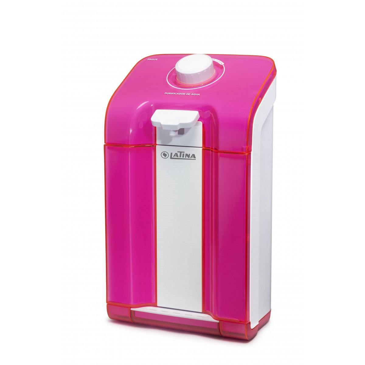Purificador de Água Latina Pn535 Rosa  - ShopNoroeste.com.br
