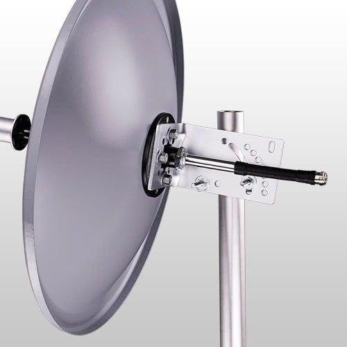 Antena Miniparabólica 5.8GHz 25 dBi 60cm  MM-5829 Aquário  - ShopNoroeste.com.br