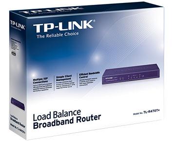 Roteador TP-Link LoadBalance 4 WAN TL-R470T+  - ShopNoroeste.com.br