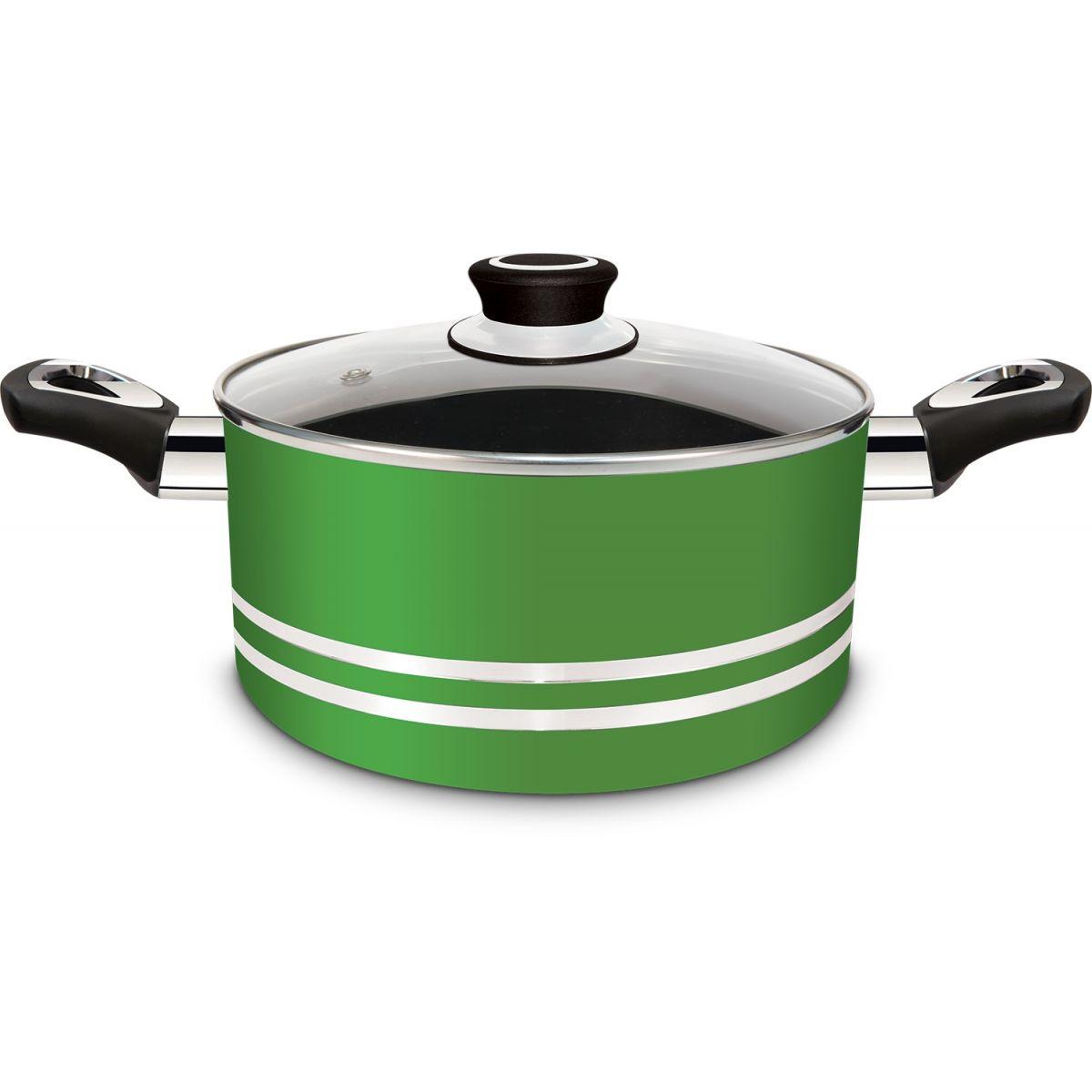 Conjunto de Panelas Eirilar Clarity Green Antiaderente 4 Peças  - ShopNoroeste.com.br