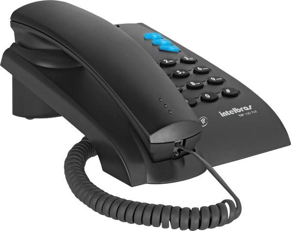 Telefone Voip IP TIP100- Intelbras  - ShopNoroeste.com.br
