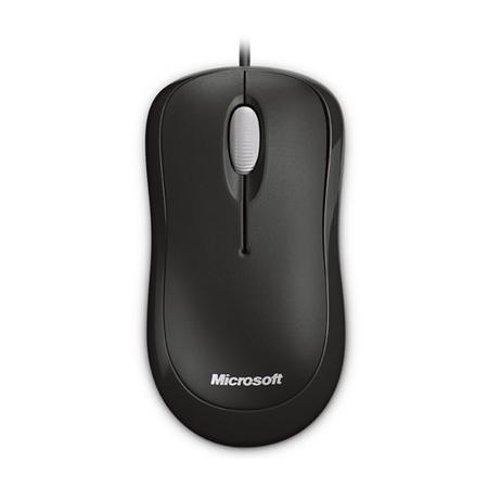 Microsoft Mouse Óptico P58-00020 USB Preto  - ShopNoroeste.com.br