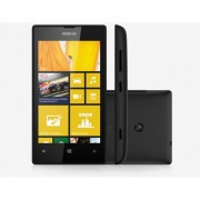 Smartphone Nokia Lumia 520 3G Windows Phone 8 - Câm. 5MP Tela 4´ Proc Dual Core Wi-Fi Desbloqueado