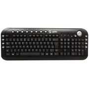 Teclado Multimídia Slim ABNT2 TM 500 Preto USB  - Spinn