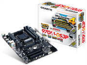 Placa Mãe GigaByte AMD AM3/AM3+ DDR3 GA-970A-DS3P
