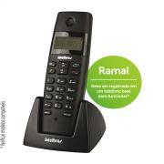 Ramal Sem Fio Intelbras TS 40 R Preto - Para Bases TS 40 ID, TS 60 V, TS 3110 ou TS 3130