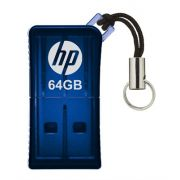 Pen Drive Hp 64Gb Azul Usb V165W