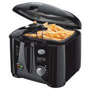 Fritadeira Elétrica Fast Fry Black 1,2 Litros Grelha Removível 220V - Mondial