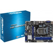 Placa Mãe AsRock H61M-HVS-CX - DDR3 LGA 1155 Box P/ Intel