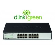 Switch Rack D-Link 16 Portas 10/100/1000Mbps DGS-1016D