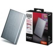 HD Sony Externo USB 3.0 500GB - HD-EG5/SCD Prata
