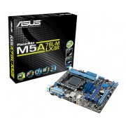 Placa-Mãe Asus p/ AMD AM3+ c/ Anti Surge, Core Unlocker, Turbo Key - M5A78L-M LX /BR
