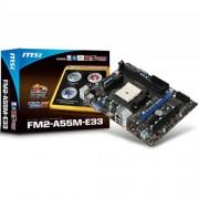 Placa Mãe MSI FM2 HDMI Serial M-ATX FM2-A55M-E33