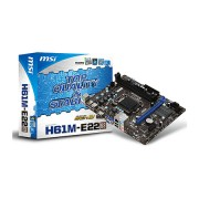 Placa Mãe MSI P/ Intel H61M-E22/W8 LGA 1155 Box
