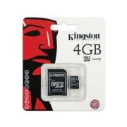Cartão de Memória Kingston SDC4/4GB 4GB Micro SD