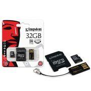 Cartão de Memória Kingston Micro USB Car 32GB + Leitor USB - MBLY4G2/32GB