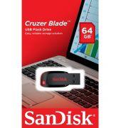 Pen Drive 64GB - Sandisk - Cruzer Blade