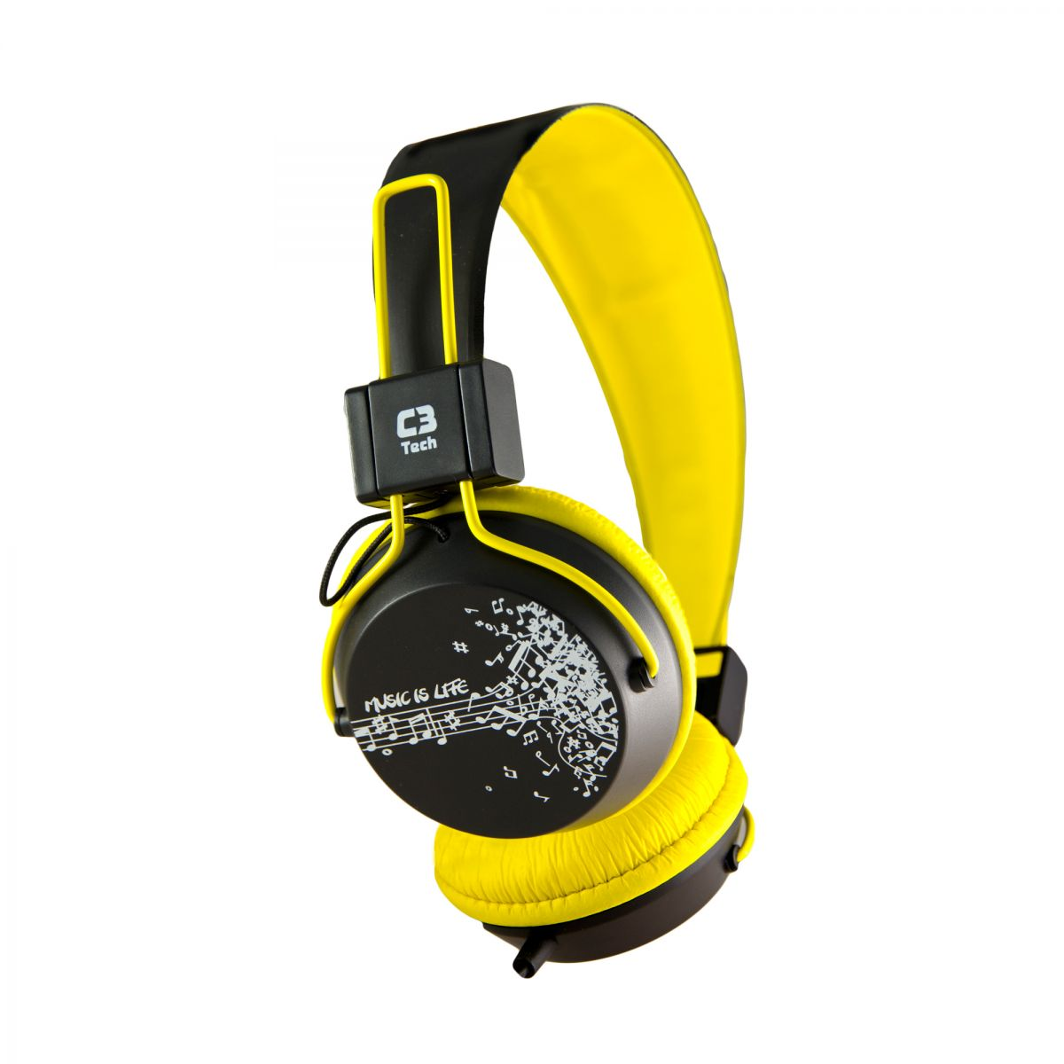 Fone de Ouvido Headset Multimídia Preto/Amalero C3 Tech - MI-2358RY  - ShopNoroeste.com.br