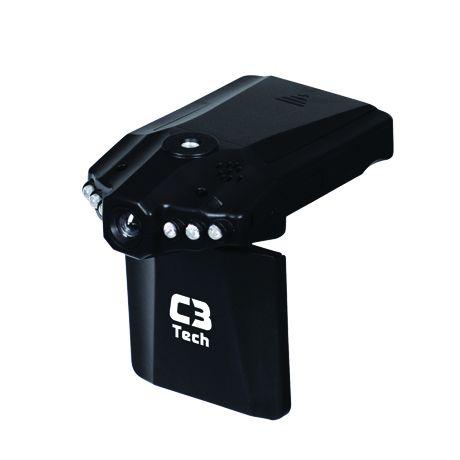 Câmera e Filmadora Veicular HD C3 Tech CV-303   - ShopNoroeste.com.br