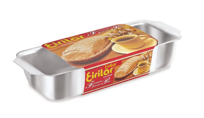 Forma de Pão Eirilar Polida 29 cm  - ShopNoroeste.com.br