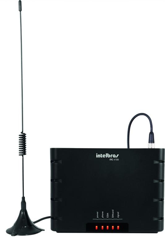 Interface Celular Quad Band Intelbras ITC 4100  - ShopNoroeste.com.br