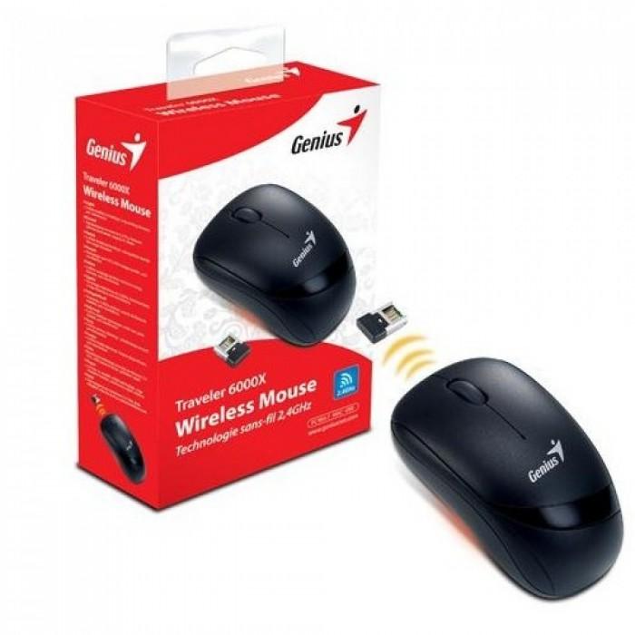 Mouse Wireless (Sem Fio) Genius Ópitico Traveler 6000X  - ShopNoroeste.com.br
