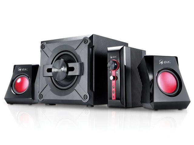 Caixa de Som Genius SW G2.1 1250 38W RMS - 31730980103  - ShopNoroeste.com.br