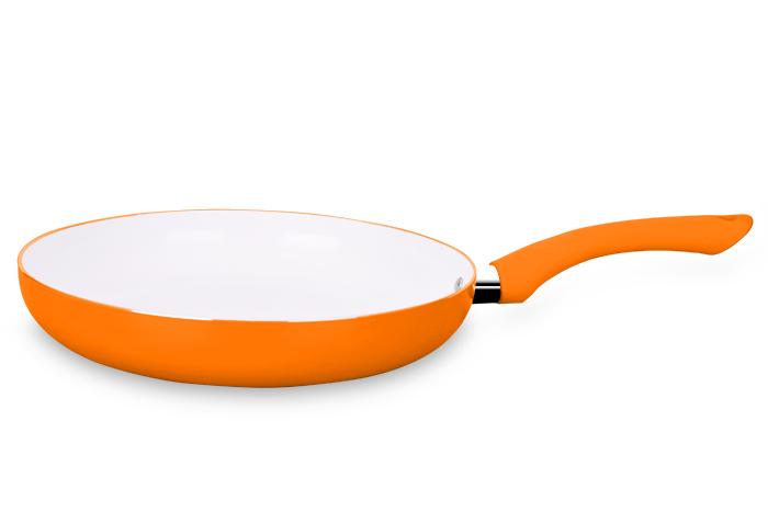 Frigideira Ceramic Orange 24 cm Super Reforçada 2,5mm - Eirilar  - ShopNoroeste.com.br